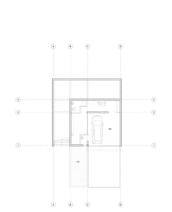 Aleksandar Gušić Arhitektura - Kuća Nivoa